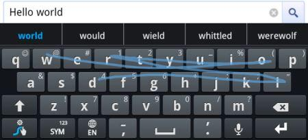 Faster Typing
