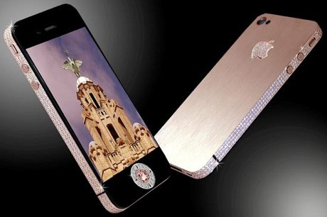 The Stuart Hughes Diamond Rose iPhone 4