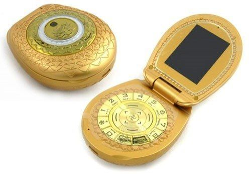 The Golden Buddha Phone