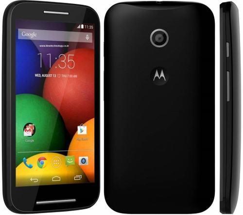 The Motorola Moto E Dual SIM