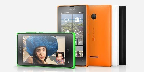 The Microsoft Lumia 435