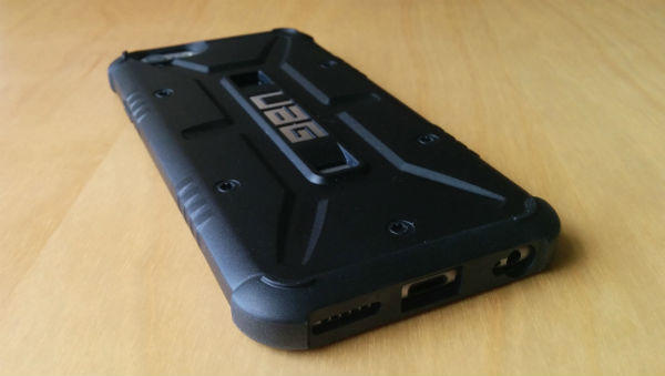 The Rear of the Case