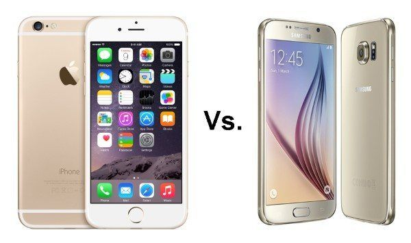 Apple iPhone 6 Vs. Samsung Galaxy S6