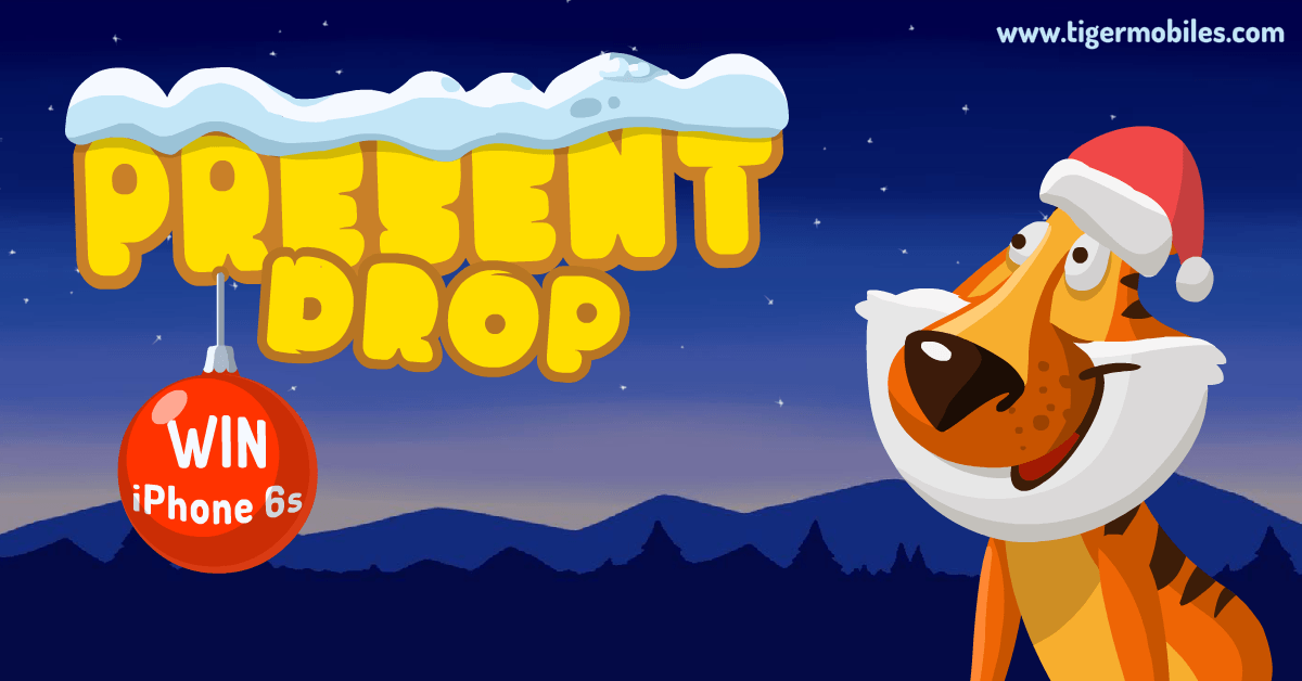 Introducing Present Drop (or Groo's New Job) – Win an iPhone 6S For Christmas