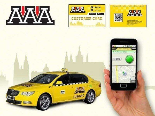 AAA Taxi Prague