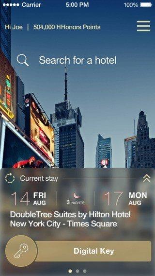Mobile App Check in