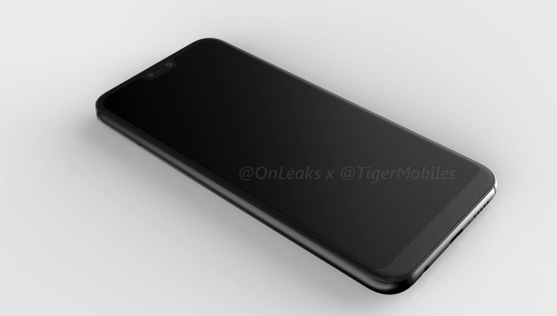 Here is Huawei's P20 lite and P20 plus, in leaked renders