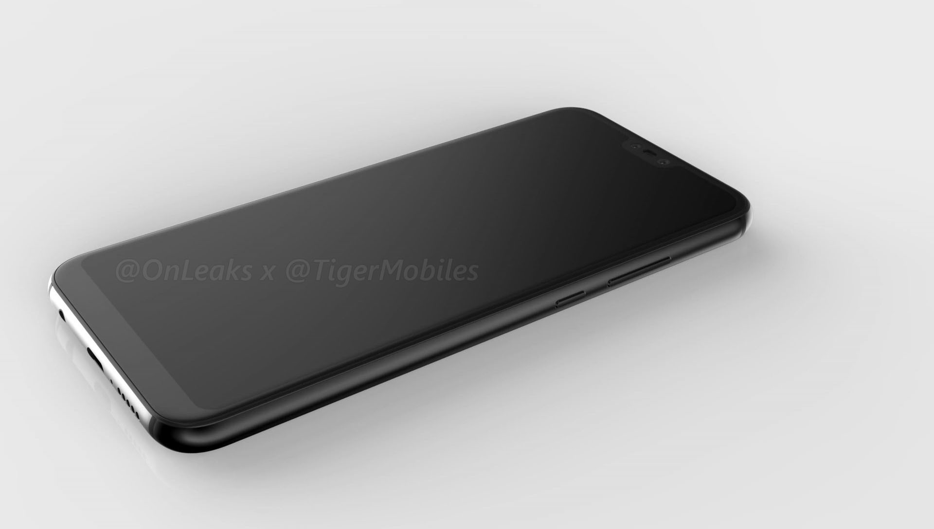Huawei P20 Plus render leaked, suggests a triple camera setup