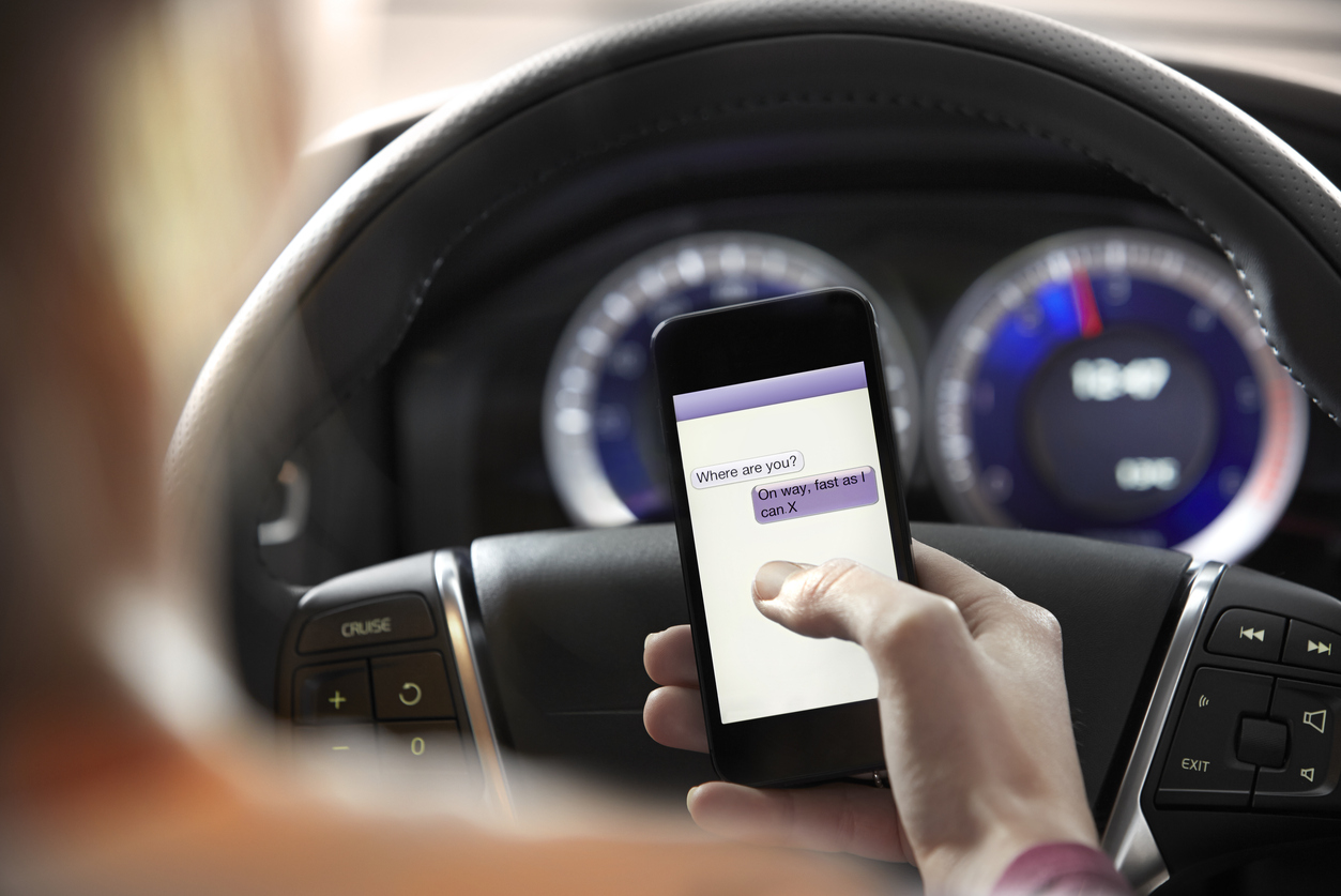 Texting and Driving Statistics: How Mobile Phone Distraction Causes Accidents