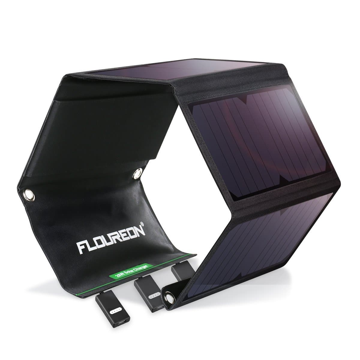 FLOUREON Solar Charger 28W