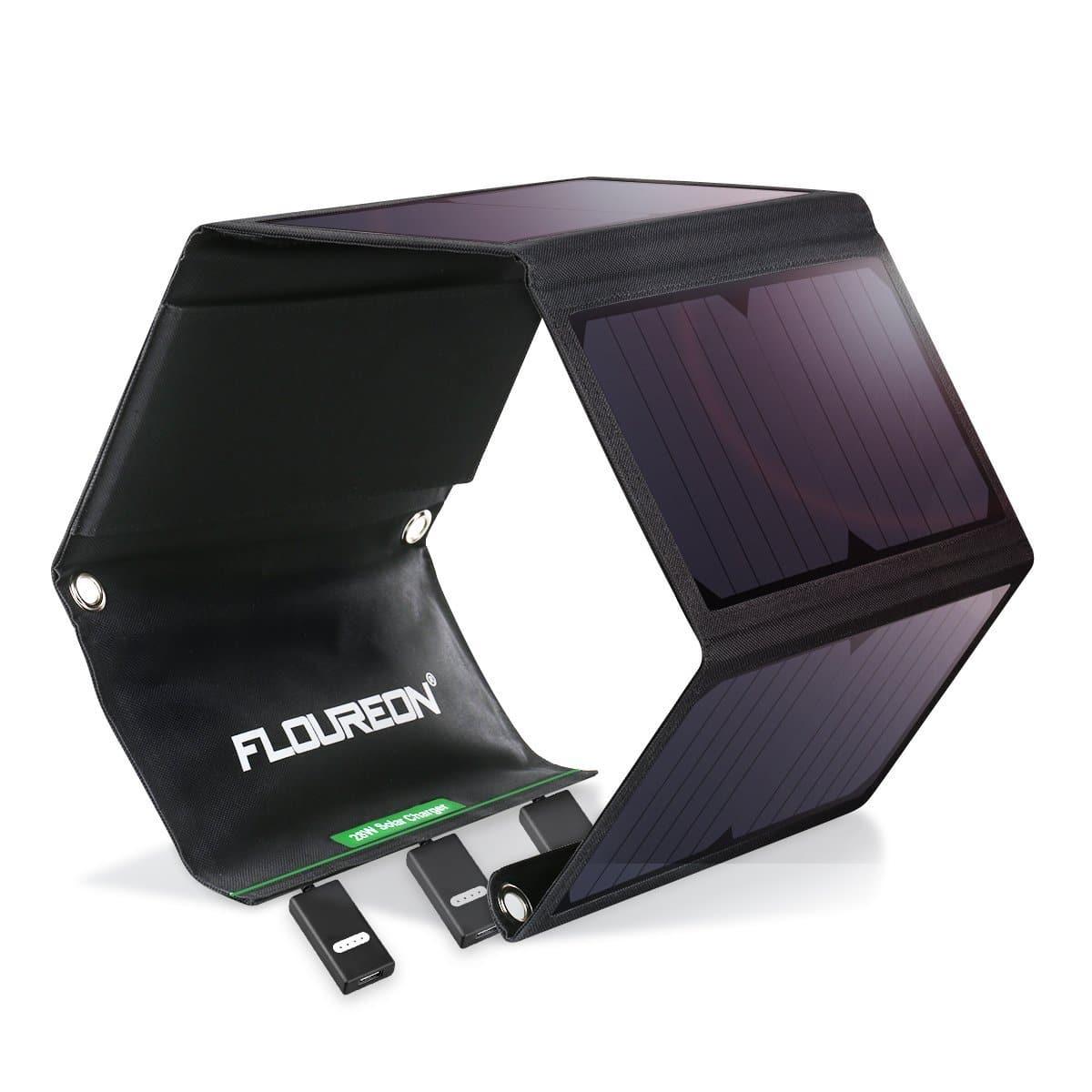 FLOUREON Solar Charger 28W