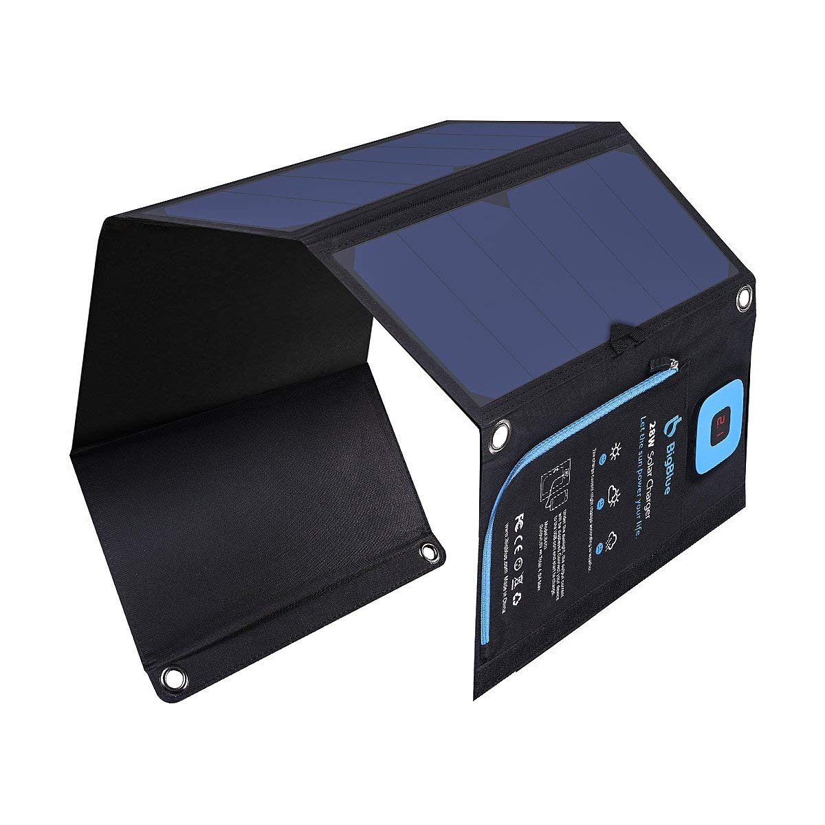 BigBlue 28 Watt Solar Charger